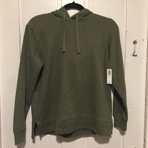NWT OLD NAVY ARMY GREEN HOODIE SZ XS